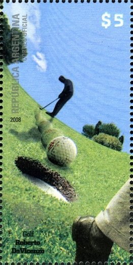 Argentina Golf stamp