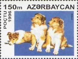 AZERBAIJAN 1996- DOGS