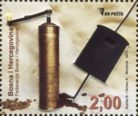 Bosnia Coffee stamp
