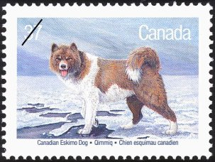 CANADA 1988 - DOGS