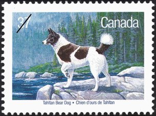 CANADA 1988-DOGS