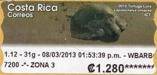 COSTA RICA -ATM LABELS