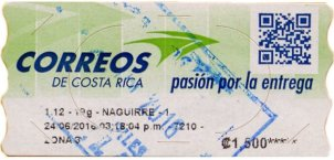 Costa Rica ATM LABELS