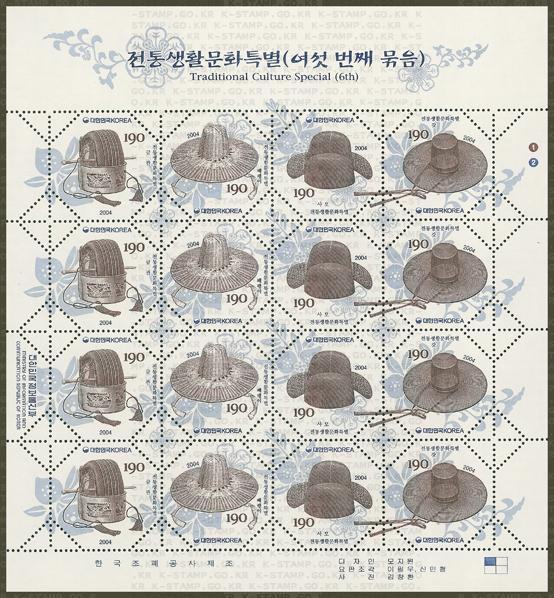 korea hats 2004