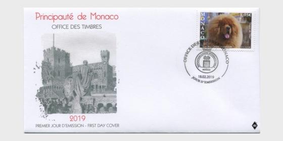 Monaco FDC Dog