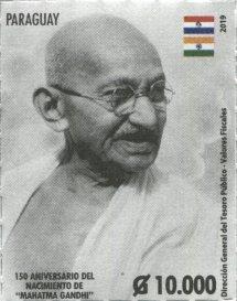 Paraguay Gandhi Stamp
