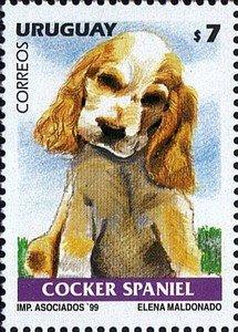 URUGUAY 1999 -DOGS