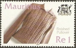 MAURITIUS 2001 -TEXTILE INDUSTRY