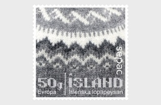 Iceland Sweater stamp