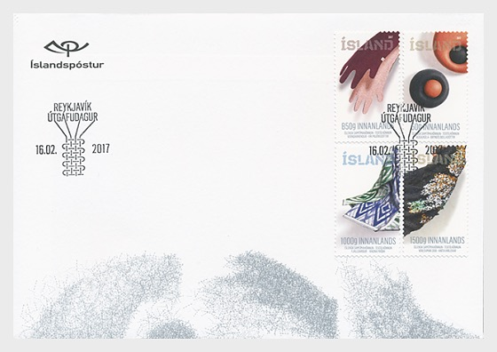 Iceland Textile FDC