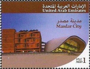UAE 2015- MASDAR & ETIHAD RAIL