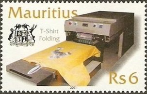MAURITIUS 2001 -TEXTILE INDUSTRY